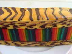 Kek lapis batik mami jarum  Untuk tempahan call 017-3644011