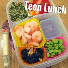 Teen packed lunch in EasyLunchboxes