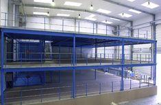 Lagerbühnen von MAVERLO werden nach den Maßlichen Vorgaben des Kunden gefertigt