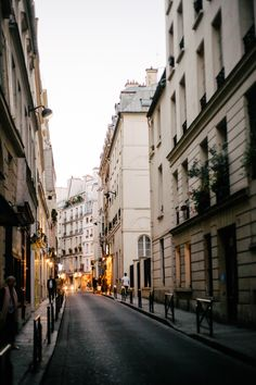 Wonderful view of the streets of Paris.