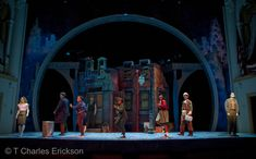 Little Shop of Horrors (Skid Row). Ford's Theatre. Scenic design by Court Watson. 2010