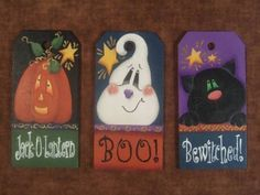 Tag Trio Decorative Painting Pattern Packet by OilCreekOriginals, $7.95