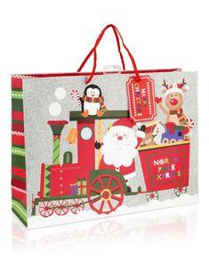 extra large santa train christmas gift bag gift bags christmas gift wrap christmas