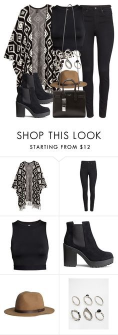 """""""Style #10275"""" by vany-alvarado ❤ liked on Polyvore featuring H&M, ASOS and Yves Saint Laurent"""