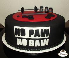Cake No pain No gain Malhação