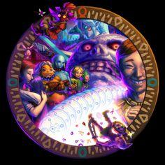 Tumblr [The Legend of Zelda: Majora's Mask] I like StoneTower. --- Majora's Mask 3D I forbid reposting my art without the source.