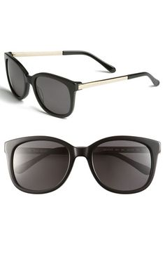 kate spade new york 'gayla' oversized sunglasses available at #Nordstrom