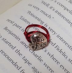 Kids heart ring by OnTheWireByMaryJane on Etsy, $5.00