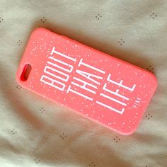 Coral iPhone 5 jelly case Really cute phone cover , didn't really use it because I didn't have the iPhone 5 for long . PINK Victoria's Secret Accessories Phone Cases
