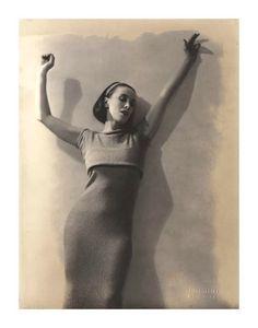 Martha Graham, c.1928  http://brooklynfoxlingerie.com/blog/2013/05/fox-of-the-week-martha-graham/