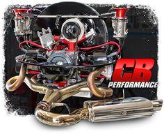 turnkey engines / custom aircooled vw motors built by Pat Downs of CB Performance Volkswagen, Kombi Hippie, Vw Super Beetle, Vw Engine, Vw Parts, Porsche 550, Beach Buggy, Boxer, Vw Beetles