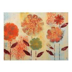 Paprika Garden Canvas Art Print | Kirklands