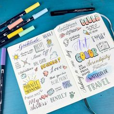 By far one of my favorite spreads in my #BulletJournal last month! Kim @tinyrayofsunshine inspired me to start logging my gratitude over a year ago, and I just love how the practice has evolved since then. - It's great to look back on, and even more so when times are tough. Approaching life daily with gratitude has been such a mindset shift and a huge part of my personal development over the past couple of years. I find myself looking at the world through new eyes, constantly on the search…