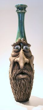 Old Man With Beard -- Fusion Art Glass Online Store