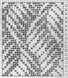 Ravelry: Project Gallery for Etude Mitts pattern by Leslie S Fair Isle Knitting Patterns, Fair Isle Pattern, Knitting Charts, Weaving Patterns, Knitting Stitches, Stitch Patterns, Crochet Chart, Filet Crochet, Ravelry