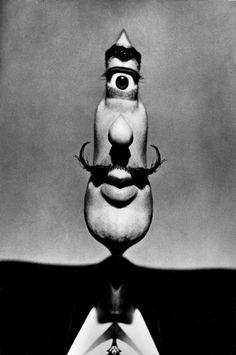Salvador Dali by Philippe Halsman, 1954
