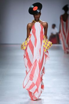 [showbiz fashionshows] Probably one of our favourite collections through the show. Imprint displayed a beautiful set of outifts including pink and white striped Pink And White Stripes, Cape Town, Modern Fashion, African Fashion, Mercedes Benz, Cover Up, The Incredibles, Style Inspiration, Ghana