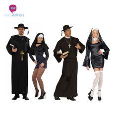 Disfraces grupo Monjas y curas