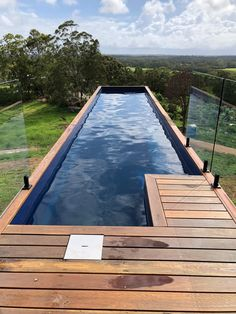 You can plan a swimming pool in any kind of dimension, shape, style, or type. These fanciful swimming pool design ideas will change your yard into an outside sanctuary. Container Home Designs, Container House Plans, Building A Container Home, Container Cabin, Cargo Container, Container Store, Container Gardening, Swiming Pool, Swimming Pools Backyard