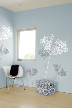 Anise Snow - Giant Wall Stickers by  ilan Dei - Only Stickboutik.com