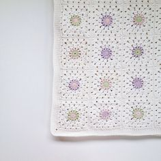 Crochet Baby Blanket by Once Upon a Whim 1