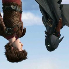 If there's one thing that Hiccup's gotten good at over the years, it's falling. He doesn't even freak out any more