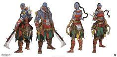 ArtStation - Horizon Zero Dawn: Tribes, luc de haan - https://www.artstation.com/artwork/ylZQn