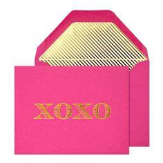 Sugar Paper XOXO Note Card Set