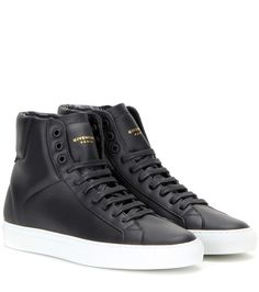mytheresa.com - Urban Knots high-top leather sneakers - Luxury Fashion for  Women