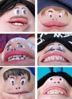 maquillage menton