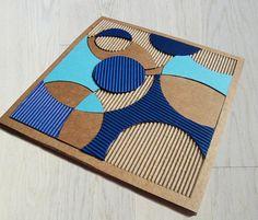 Mosaico di cartone colorato gioco educativo di bottegadicartone