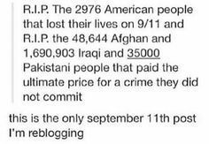 Because the Saudis were Bush's friends, he didn't go after the real culprits of 9/11.
