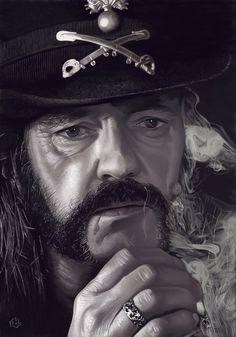 Mr Lemmy Kilmister by firehazzard-designs.deviantart.com on @deviantART