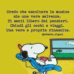 ♡♡♡La musica come salvezza e rinascita.
