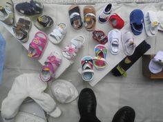 Grande Variedade em Sandálias e Sapatos.