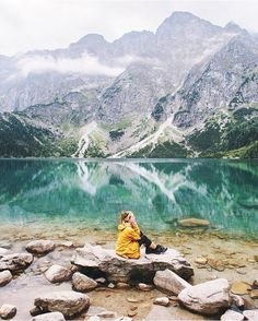 From quieter times in Poland. Oh The Places You'll Go, Places To Travel, Travel Destinations, Places To Visit, Polish Mountains, Zakopane Poland, Tatra Mountains, Poland Travel, Travel Goals