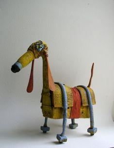hitku:  -le chien jaune