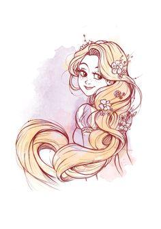 MEMORABILIA STUDIOS - Rapunzel dancing in the famous scene of the movie!...
