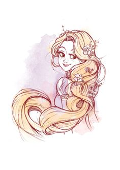 MEMORABILIA STUDIOS - Rapunzel dancing in the famous scene of the movie!...