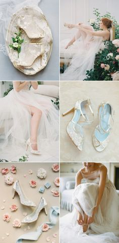 ab2d22a41a69 Ultra Romantic and Elegant Wedding Shoes for Every Bride - Bella Belle Shoes