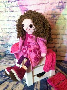 Crochet Doll Michalka Dolls, Crochet, Crochet Hooks, Puppet, Crocheting, Doll, Puppets, Thread Crochet, Hooks
