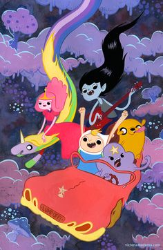 Variant cover for Adventure Time issue #10 by Victoria Maderna