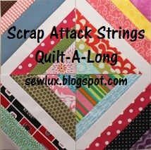 Hi friends! At the beginning of 2012, I introduced a QAL to help us use up those scraps  we all have stashed away. Are you stitching along ...