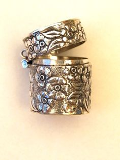 Laraines On Capri: Shopping Online;  Silver Thimble Keeper  A beautiful reproduction silver Thimble Keeper. Can be hung from a chain as jewelry or attached to a chatelaine.