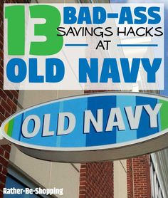 13 Bad-Ass Old Navy Hacks That'll Change the Way You Shop - Finance tips, saving money, budgeting planner Best Money Saving Tips, Ways To Save Money, Money Tips, Saving Money, Store Hacks, Shopping Hacks, Preparing For Retirement, Savings Planner, Cleaners Homemade