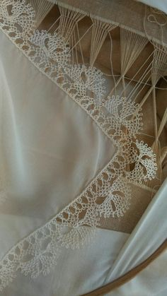 This post was discovered by Em Crochet 101, Hand Embroidery Dress, Needle Tatting, Crochet Doilies, Needlepoint, Needlework, Diy Crafts, Wallpaper, Lace