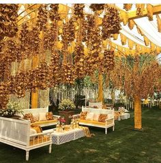 Find 22 most creative and beautiful Mehndi decor ideas. Get ideas for your mehandi day from Chic & Stylish mehndi decoration ideas which are easy to set up. Desi Wedding Decor, Wedding Stage Decorations, Wedding Mandap, Backdrop Decorations, Wedding Ideas, Wedding Receptions, Wedding Book, Wedding Images, Wedding Cake