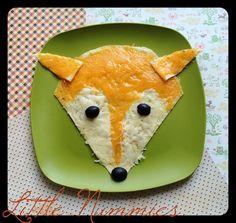 Woodland Animal: Fox Quesadilla