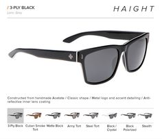 Spy Crosstown Collection - Haight
