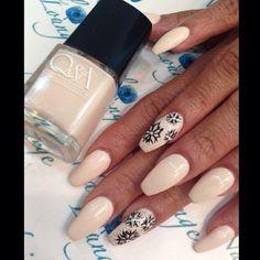 #ShareIG by @caro38nails using Butter Pecan Rican by @qanaillacquer #nails #nailart #nailbar #naillounge